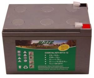 Akumulator żelowy 12Ah/12V HZY EV