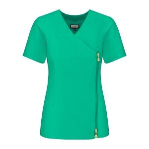 Bluza medyczna damska na zamek