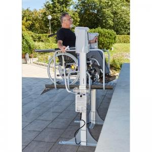Podnośnik pionowy - platforma dla wózków inwalidzkich Heymer HHB