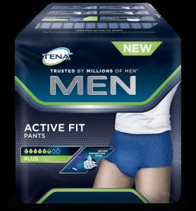 Majtki chłonne TENA Active Fit Pants Plus M 9szt