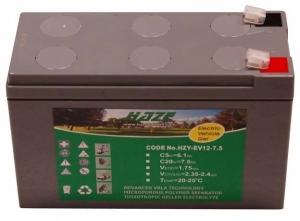 Akumulator żelowy 7,5Ah/12V HZY EV